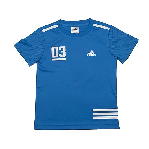 adidas阿迪达斯2016新款专柜同款男小童短袖T恤AP6447