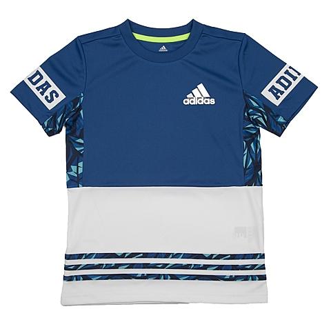 adidas阿迪达斯新款专柜同款男大童短袖T恤AP6539