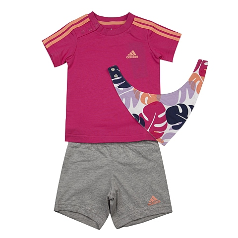 adidas阿迪达斯2016新款专柜同款女婴童短袖套服AJ7358