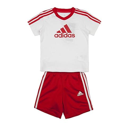 adidas阿迪达斯新款专柜同款男婴童短袖套服AK2618