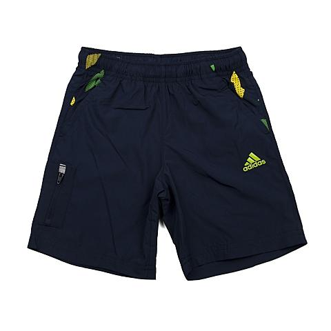 adidas阿迪达斯新款专柜同款男小童梭织短裤AP6451