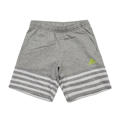 adidas阿迪达斯新款专柜同款男小童针织短裤AP6448