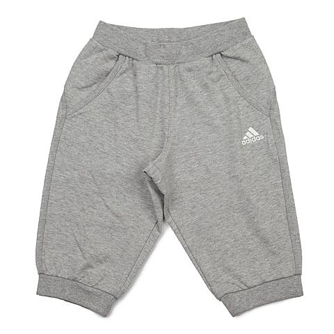 adidas阿迪达斯新款专柜同款女小童针织七分裤AP6463