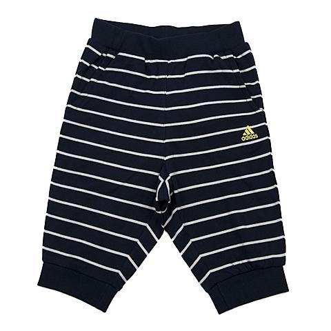 adidas阿迪达斯新款专柜同款男小童针织七分裤AP6502