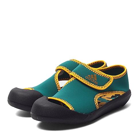adidas阿迪达斯新款专柜同款男小童游泳鞋AF3877