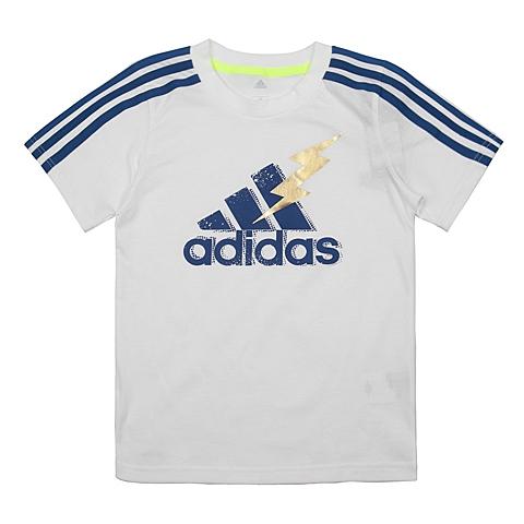 adidas阿迪达斯新款专柜同款男大童短袖T恤AP6537