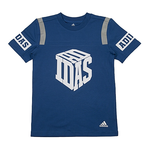 adidas阿迪达斯新款专柜同款男大童短袖T恤AP6548