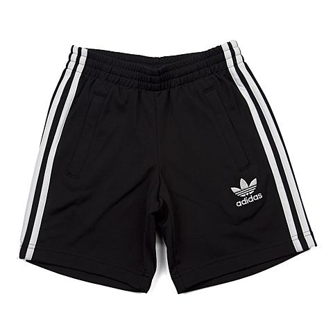 adidas阿迪三叶草新款专柜同款男大童针织短裤S93510