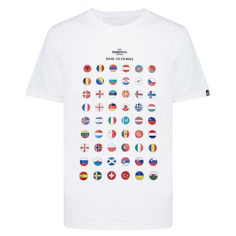 adidas阿迪达斯新款男子图案系列T恤AI5601
