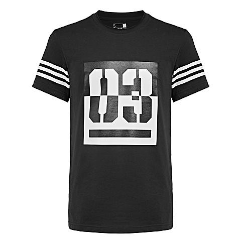 adidas阿迪达斯新款男子SUMMER ATTACK系列T恤AP6381