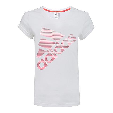 adidas阿迪达斯新款女子SUMMER ATTACK系列T恤B30566