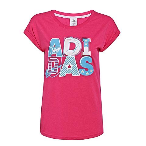 adidas阿迪达斯新款女子SUMMER ATTACK系列T恤AP5891