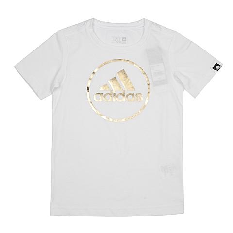 adidas阿迪达斯新款专柜同款男大童T恤AI5892