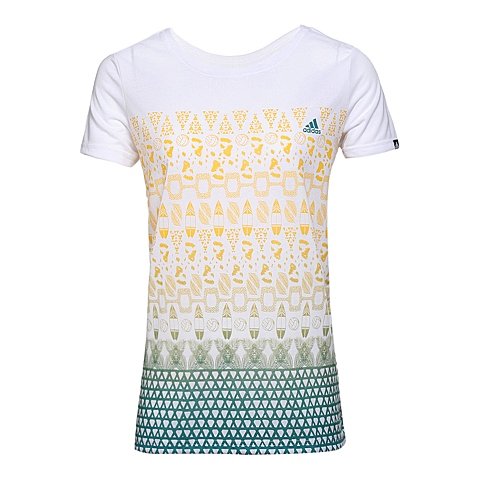 adidas阿迪达斯新款女子运动休闲系列T恤AI6164