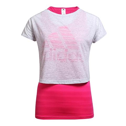 adidas阿迪达斯新款女子活力色彩系列T恤AP5936