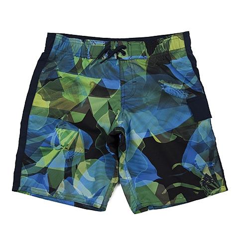 adidas阿迪达斯新款专柜同款男大童梭织短裤AJ6610