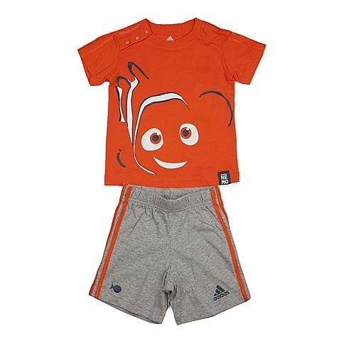 adidas阿迪达斯新款专柜同款男婴童迪士尼系列短袖套服AK2548