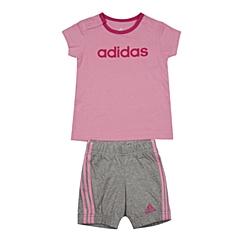 adidas阿迪达斯2016新款专柜同款女婴童短袖套服AK2610