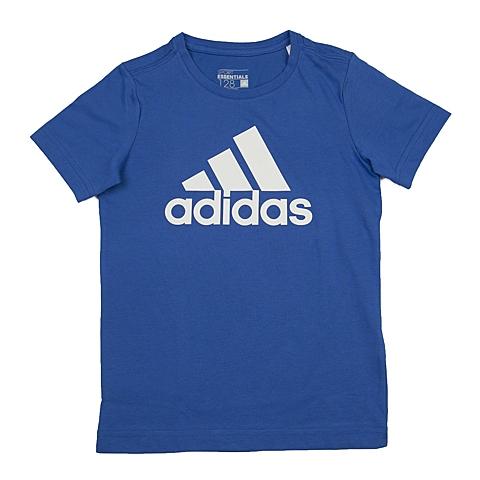 adidas阿迪达斯新款专柜同款男大童短袖T恤AY8259