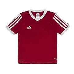 adidas阿迪达斯2016新款专柜同款男大童足球俱乐部系列短袖T恤F50454