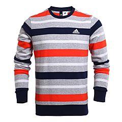 adidas阿迪达斯2017年新款男子训练运动休闲系列针织套衫BK5564