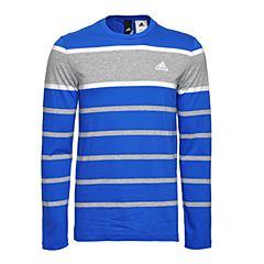 adidas阿迪达斯2017年新款男子运动休闲系列长袖T恤BK5561