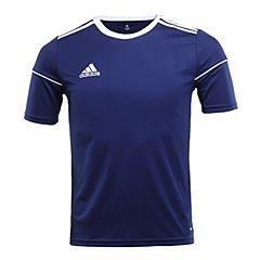 adidas阿迪达斯2017新款男大童SQUAD 17 JSY Y足球训练短袖T恤BJ9194
