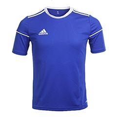 adidas阿迪达斯2017新款男大童SQUAD 17 JSY Y足球训练短袖T恤S99151