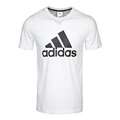 adidas阿迪达斯2017新款男大童YB LOGO TEE短袖T恤BK3488