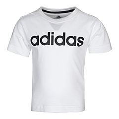 adidas阿迪达斯2017新款男小童LK LIN TEE短袖T恤BP9345