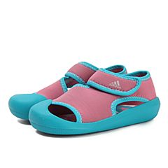 adidas阿迪达斯2018女婴童SandalFun I游泳鞋BY2240