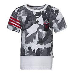 adidas阿迪达斯2017新款男小童LB DY SM TEE蜘蛛侠系列短袖T恤BK1066