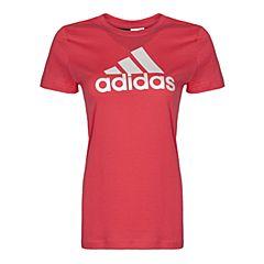 adidas阿迪达斯2017新款女大童YG LOGO TEE短袖T恤BP8606