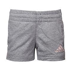 adidas阿迪达斯2017新款女小童LG KN SHORT针织短裤BP9338