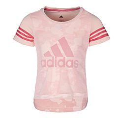 adidas阿迪达斯2017新款女小童LG SS TEE短袖T恤BJ8185