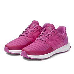 adidas阿迪达斯女小-大童RapidaRun wide K跑步鞋CQ1748