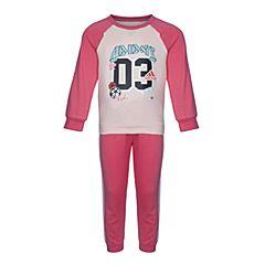 adidas阿迪达斯女婴童I SP TERRY JOG长袖套服CE9553