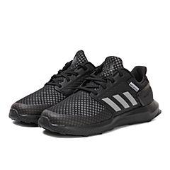 adidas阿迪达斯2017年新款小-大童RapidaRun K wide跑步鞋CG3360