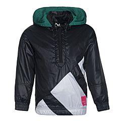 adidas阿迪三叶草2017女小童L EQT WB梭织茄克BR7276