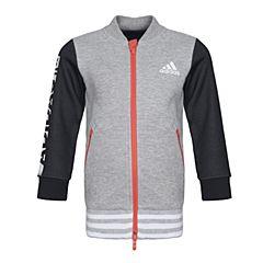 adidas阿迪达斯女小-大童LG LONG BB JKT针织茄克BQ0471