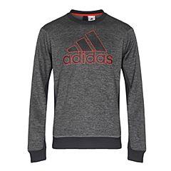 adidas阿迪达斯2017男子COMM G CREW针织套衫BQ4745