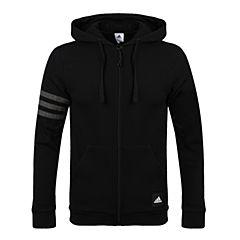 adidas阿迪达斯男子3S LOGO Hood B针织外套CI3308