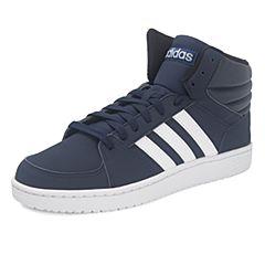 adidas阿迪达斯2017年新款男子VS HOOPS MID篮球场下休闲系列篮球鞋B74292