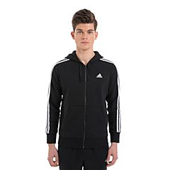 adidas阿迪达斯2017男子ESS 3S FZ B针织外套B47368