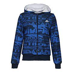 adidas阿迪达斯女大童YG FL REV JKT 两面穿梭织夹克CE8249
