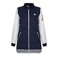 adidas阿迪达斯2017新款女大童YG J LONGBB DOW羽绒服BP6201
