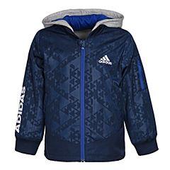 adidas阿迪达斯2018男小童LB 2IN1 JKT 2合一梭织茄克CV5383