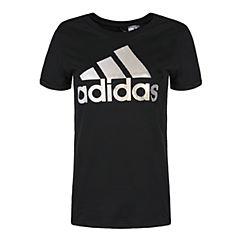adidas阿迪达斯2018女子GFX T FOIL LOGO圆领短T恤DM3106