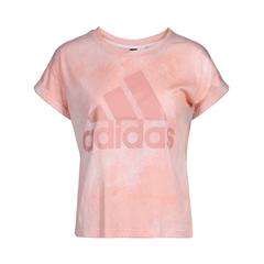 adidas阿迪达斯2018女子W ESS AOP T圆领短T恤CV8334