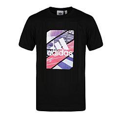 adidas阿迪达斯2018男子GFX T PHOTO圆领短T恤CX4999